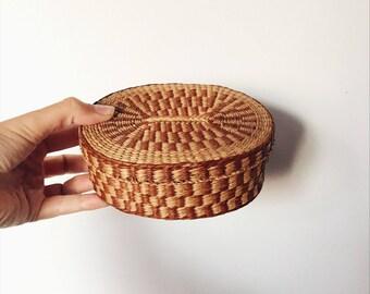 Woven vintage Basket