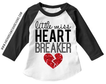 Heart Breaker Youth Raglan
