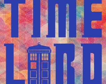 Timelord SVG // Doctor Who // Tardis // Printable