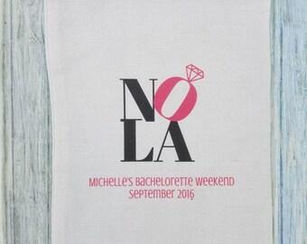 10 Bachelorette Party Favor, Hangover Kit, Survival Kit, Recovery Kit, Emergency Kit, Custom Bachelorette Party Bags -  NOLA Recovery Kit