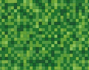 Minecraft Fabric / Pocket Arcade Fabric / Minecraft by the yard / Minecraft Yardage Timeless Treasures c5421 / By The Yard and Fat Quarters