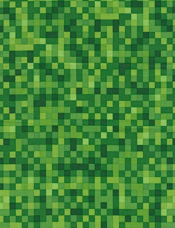 Minecraft fabric pocket arcade fabric minecraft by the for Minecraft fabric by the yard