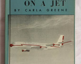 Jet Book,AIrplane Book,Carla Greene,60 Children Book,American Airlines,Child AIrplane Book,Child Jet Book,Retro AIrplane Book,Retro Jet Book