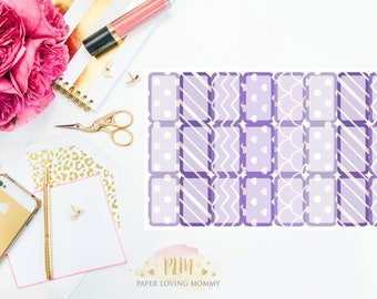 April Halfbox Stickers | Planner Stickers designed for use with the Erin Condren Life Planner