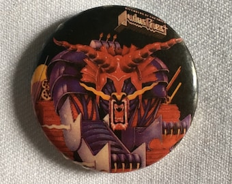Vintage Judas Priest Pin