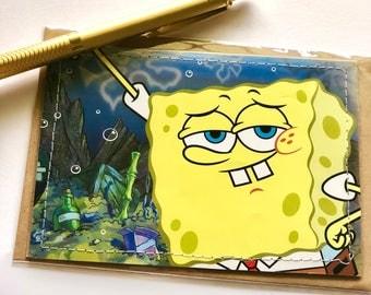 SpongeBob Blank Card, Bottom of Ocean