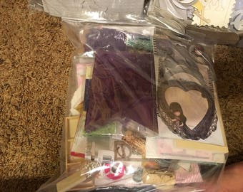 Various Craft Supplies  Grab Bags