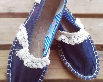 Women's Espadrilles & wedges, Handmade shoes, Espadrilles, espadrilles, Moccasins, sandals, women's shoes, women's Slip Ons, Custom Espadrilles