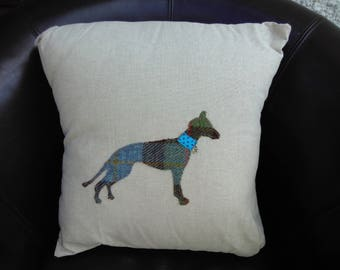 Whippet/Lurcher cushion