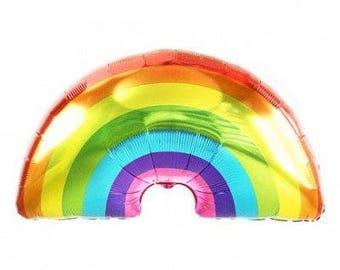 Rainbow Balloon - Birthday Party - unicorns