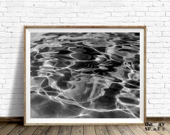 Ocean art print Ocean water Ocean art Ocean waves print Ocean print Coastal art Ocean photography Coastal print Ocean wall art Ripples print