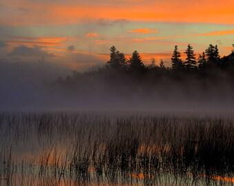 Sunrise Photography, Lake Placid Photo, Adirondack Mountains, Sunrise Print, Nature Photos, Adirondack Print, Lake Placid, Landscape Art