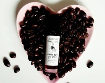 Coffee Bean Eye Serum || for dark circles and fine lines
