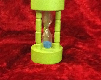 1970s Otagiri OMC Japan Owl kitchen / minute / egg timer hourglass