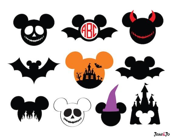 Mickey Halloween SVGMickey Halloween VectorMickey Halloween
