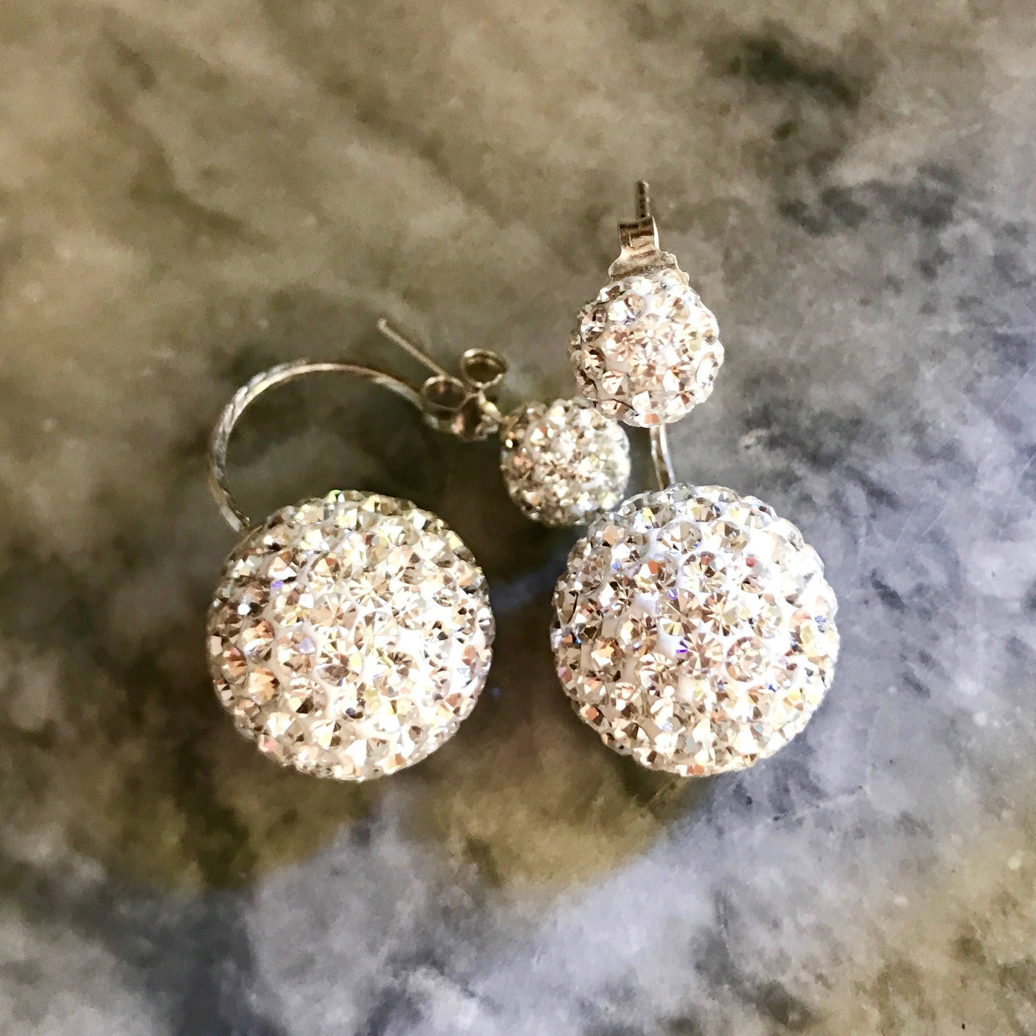 sparkly earrings stud earring