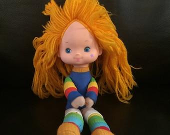 "1983 Rainbow Brite Doll/ Hallmark/ Measures: 10""/ 1980s"