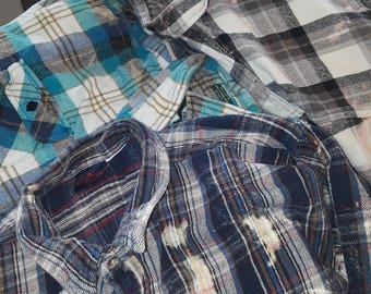 Your Choice of Oversized Vintage Thick Flannels
