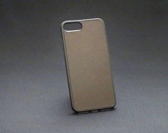 Apple iPhone 7+ Plus 8+ Plus - Jimmy Case in Smooth Brown - Kangaroo leather - Handmade - James Watson