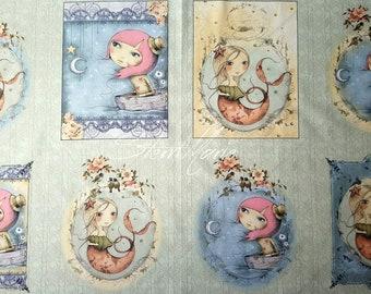 "Mirabelle ""Adrift"" panel"
