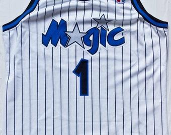 Penny Hardaway Orlando Magic NBA Champion basketball jersey vintage