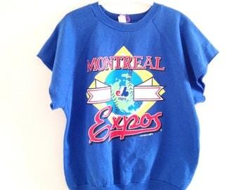 Montreal Expos Vintage Sweatshirt Vest