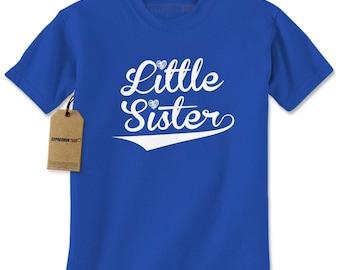 Little Sister Siblings Mens T-shirt
