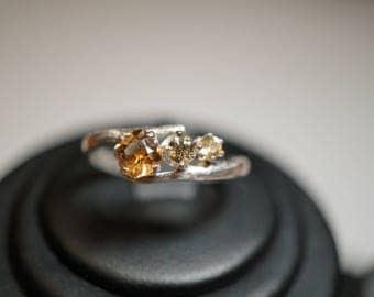Brilliant Montana Sapphire ring