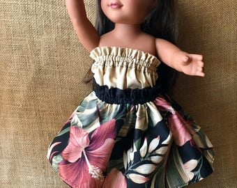 "Hawaiian doll cloths for 18""-20"" dolls"