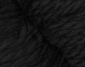 Cascade 128 Superwash +6 Quick Knit Patterns 10.99 +1.50ea Ship Soft Bulky Merino Wool - Black #815 - Machine Wash & Dry. MSRP 13.00