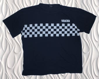 TRACKS - Large (fits Small to Medium) - Checkerboard T-shirt