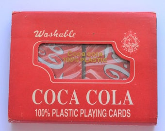 Vintage Coca Cola playing cards, card deck