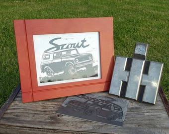 Of all the roads you take make sure a few are dirt by for International harvester wall decor