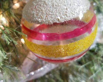 Shiny Brite Unsilvered Christmas Ornaments