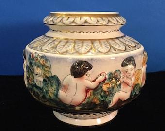 Capodimonte Italian Vase 1366/97