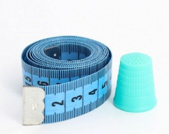 Tape measure with 150cm + thimble 18mm