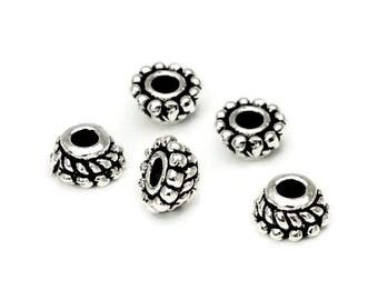 Pearl Silver 925 tapered AC0237BK PK023