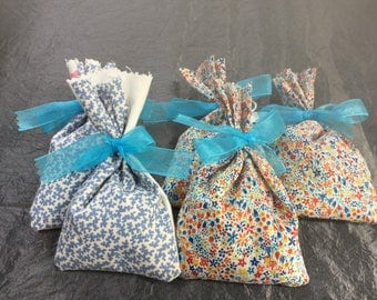 Lavender Bags with homegrown lavender