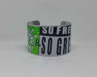 So Fresh & So Green Cuff Bracelet