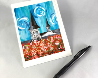 Twin Spires 2018 Greeting Card