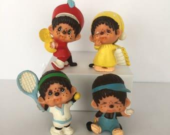 Sekiguchi pvc figures - lot of 4