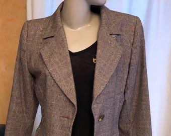 YSL vintage Yves Saint Laurent blazer jacket vintage blazer jacket
