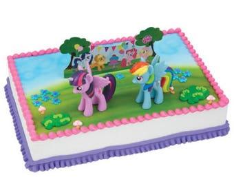 My Little Pony It's a Pony Party Cake Topper