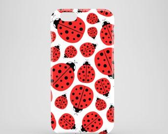 Ladybirds phone case / ladybug phone case / cute iPhone 7 case / iPhone 7 Plus / iPhone 6 / iPhone 5/5S, Se / Samsung Galaxy S6