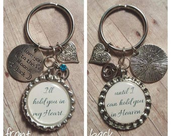 Infant Loss Keychain - Memorial Keychain - Child Loss Keychain - Personalized Keyring - Baby Loss - Miscarriage Gift - Stillborn Keepsake