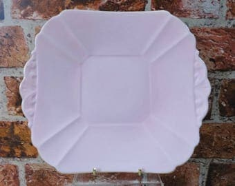 Shelley Candy Pink & Gold Serving Plate