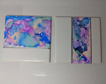 Kynnedy, painted coasters