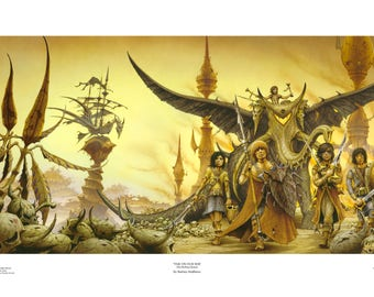 Time on Our Side limited edition giclée print by Rodney Matthews (The Rolling Stones)