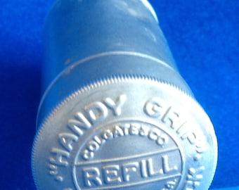 Vintage Colgate & Co Shaving Stick Refill Tin