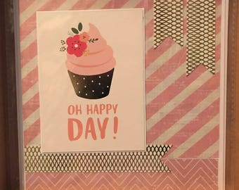 Birthday Card • Handmade • Square Card • Quotes